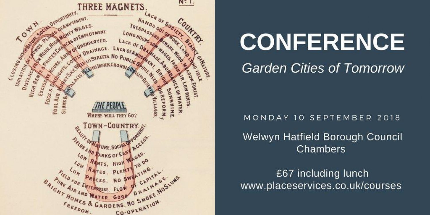 Garden Cities of Tomorrow Conference - 10 September
