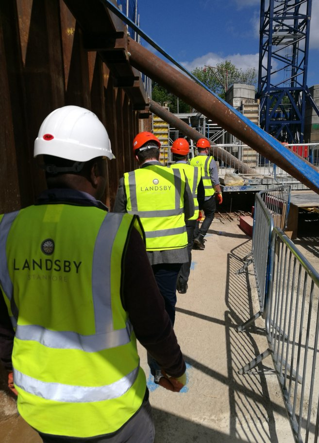 Later living development The Landsby, now on site​