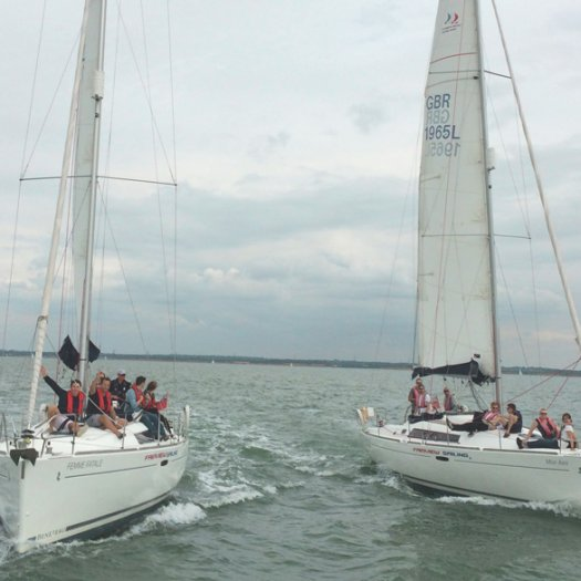 ColladoCollins sails to Isle of Wight