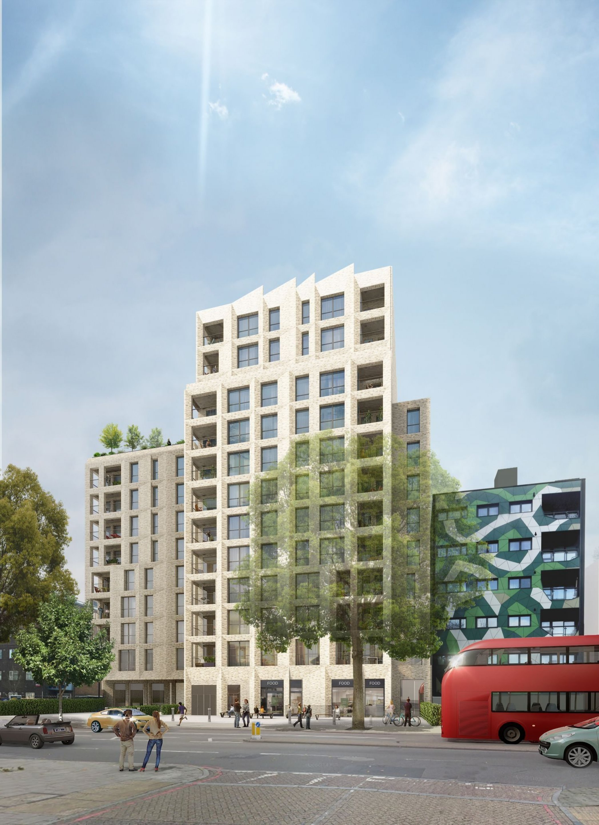 ColladoCollins wins planning for mixed-use scheme on New Kent Road