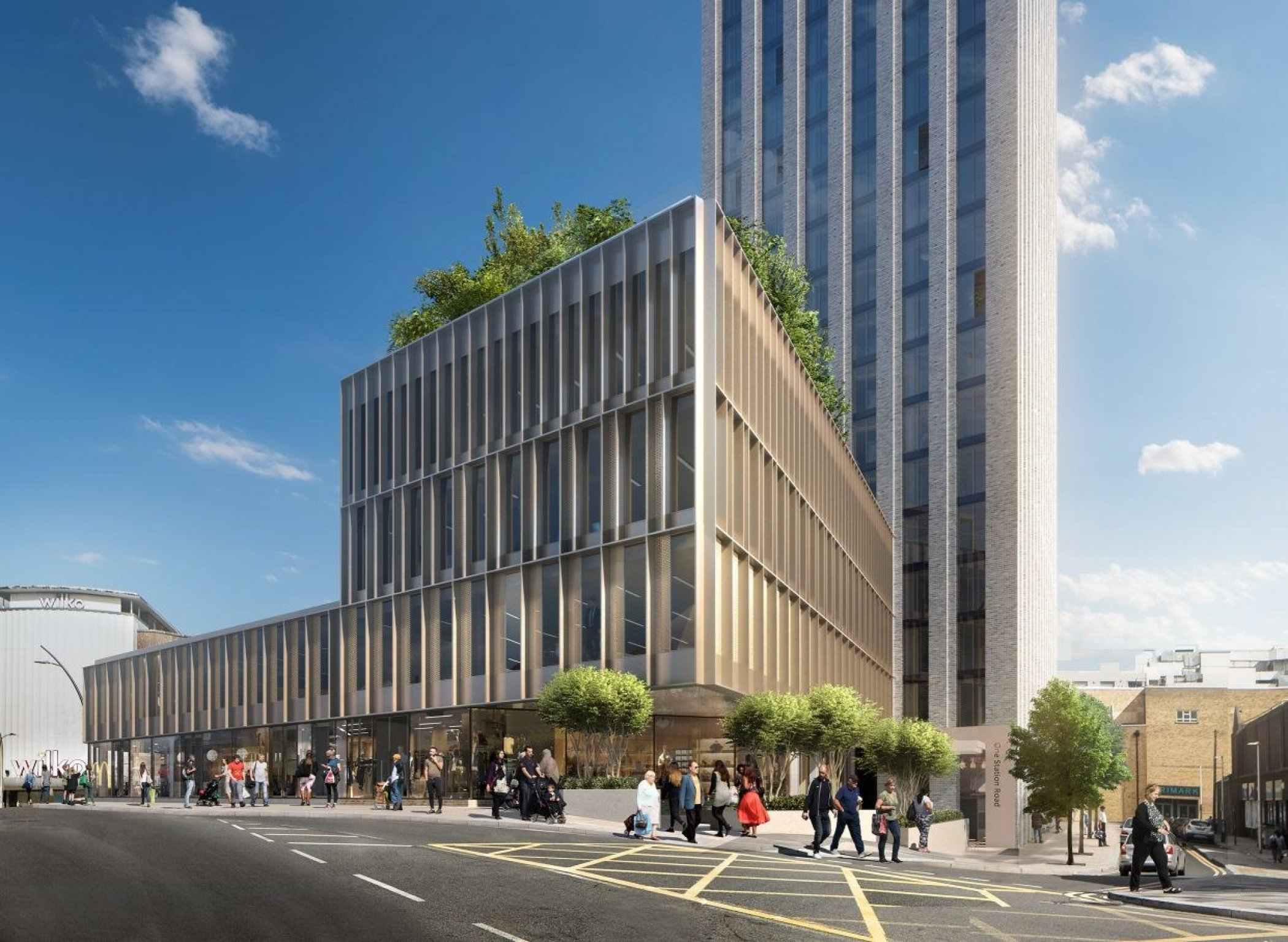 Plans submitted for 42-storey build to rent scheme in Ilford
