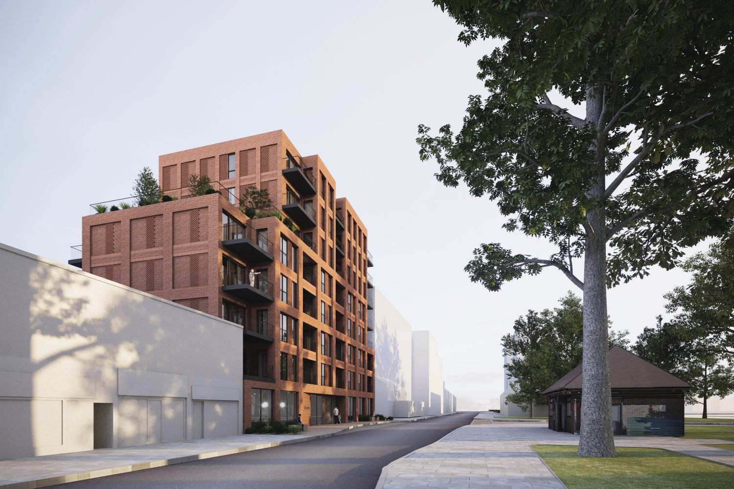 Plans submitted for new residential building in London Borough of Sutton